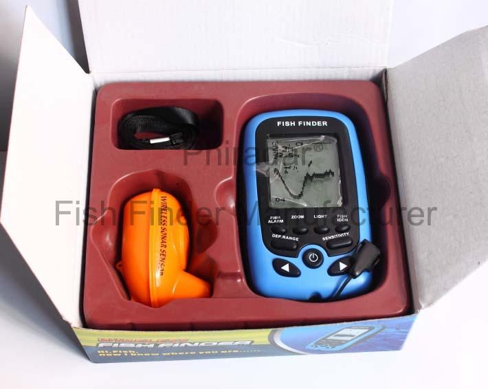portable wireless fish finder fd66 - phiradar (china manufacturer, Fish Finder