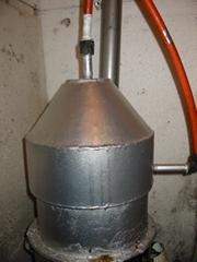Testudinate greenhouse automation hot-water circul