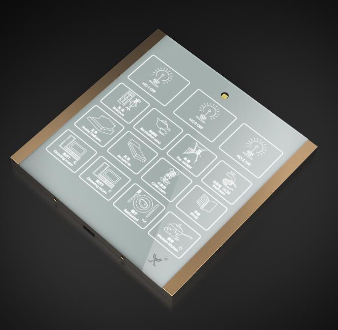 36路中控智能開關 智能照明系統 支持異地控制 1