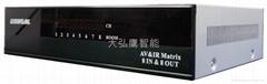 AV影音矩陣808(AV共享器)AV交換機 廈門智能家居