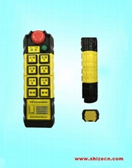 Tower crane remote controller