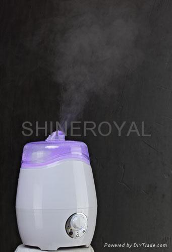 帶淨化功能的迷你香薰加濕器 Aroma Diffuser 4
