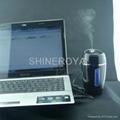 USB加濕器 車載加濕器 桌面加濕器 無水自動斷電 2
