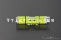 plastic spirit level vial