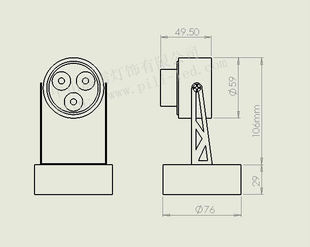 LED壁燈/LED射燈/LED裝潢燈 2