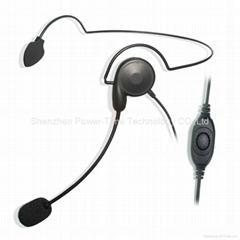 对讲机轻型头戴耳机