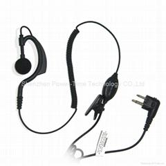 对讲机耳挂式耳机