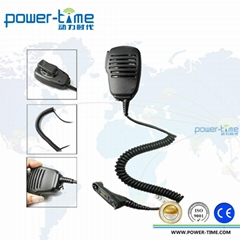 Two Way Radio Speaker Microphone with 3.5mm jack