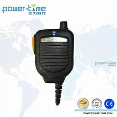 Remote speaker microphone for POC radio and LTE radio