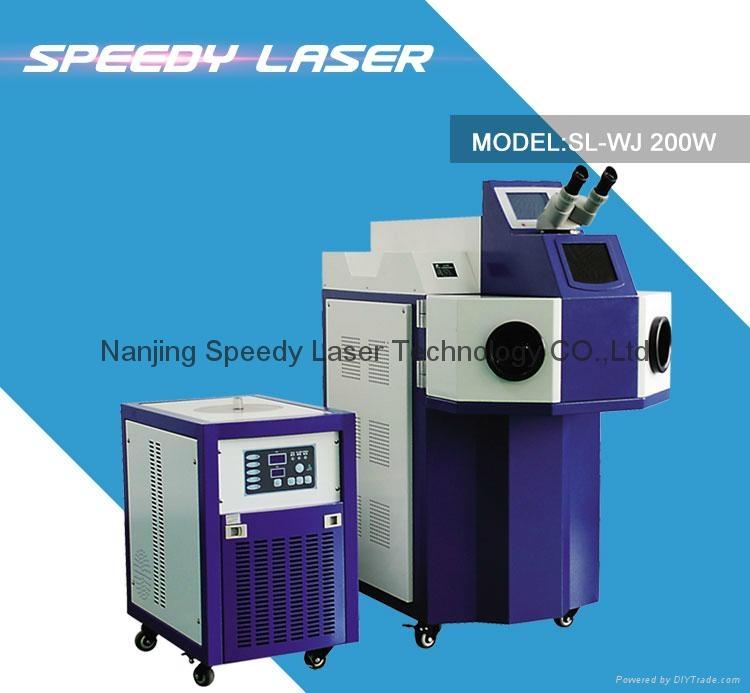 Jewelry spot laser welding machine 1