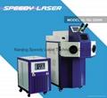 Jewelry spot laser welding machine