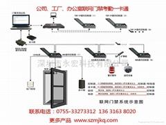 深圳IC卡門禁一卡通安裝維修維護