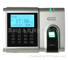 深圳中控X628指纹考勤机指纹打卡机带U盘接口