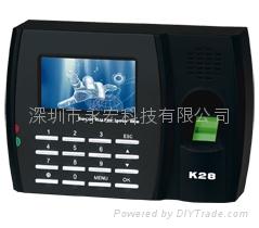 深圳K28指纹考勤机打卡机
