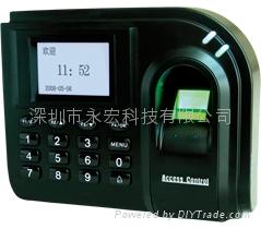 深圳中控F1指紋密碼門禁機
