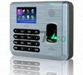 深圳中控X628指紋考勤機指紋打卡機帶U盤接口 1