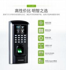深圳南山中控F7PLUS指紋門禁