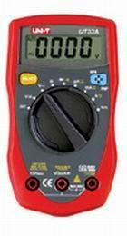 UT-33 Palm-Size Digital Multimeters 1