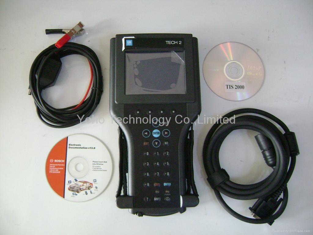 GM Tech2 Diagnostic Tool, Tech 2, Opel, Saab, Isuzu, Suzuki Vetronix GM Tech-2 2