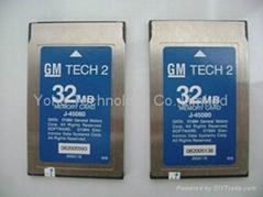 2014 Good quality GM tech2 Card 32MB multi-language PCMCIA card