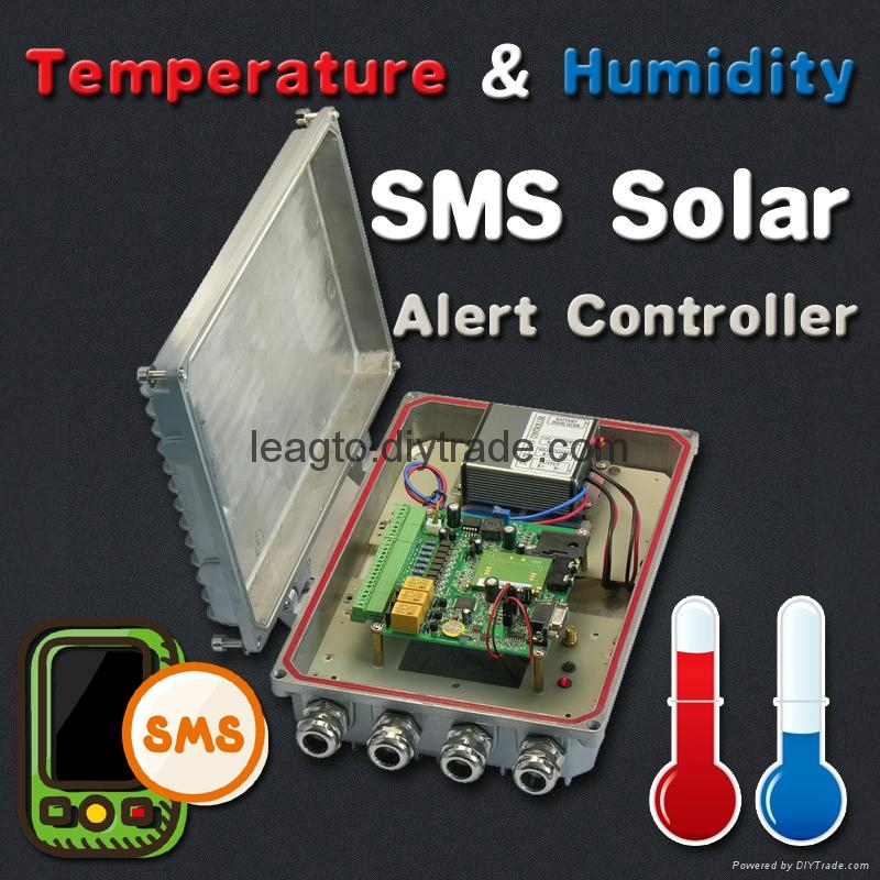 SMS Temperature  Humidity Controller 1
