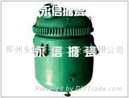 1500L河南搪瓷反應釜