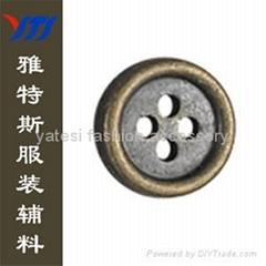 Alloy button