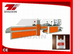 CY500 Automatic T-shirt bag making machine(one line)