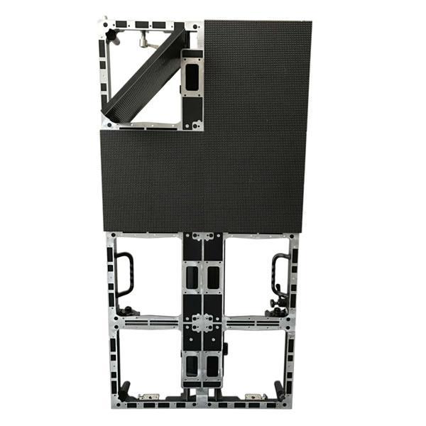 新款LED顯示屏壓鑄鋁箱體 LED顯示屏箱體 500*1000*72mm 2