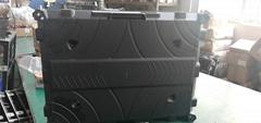公模磁吸前維護壓鑄鋁箱體 LED顯示屏箱體 640*480*52MM
