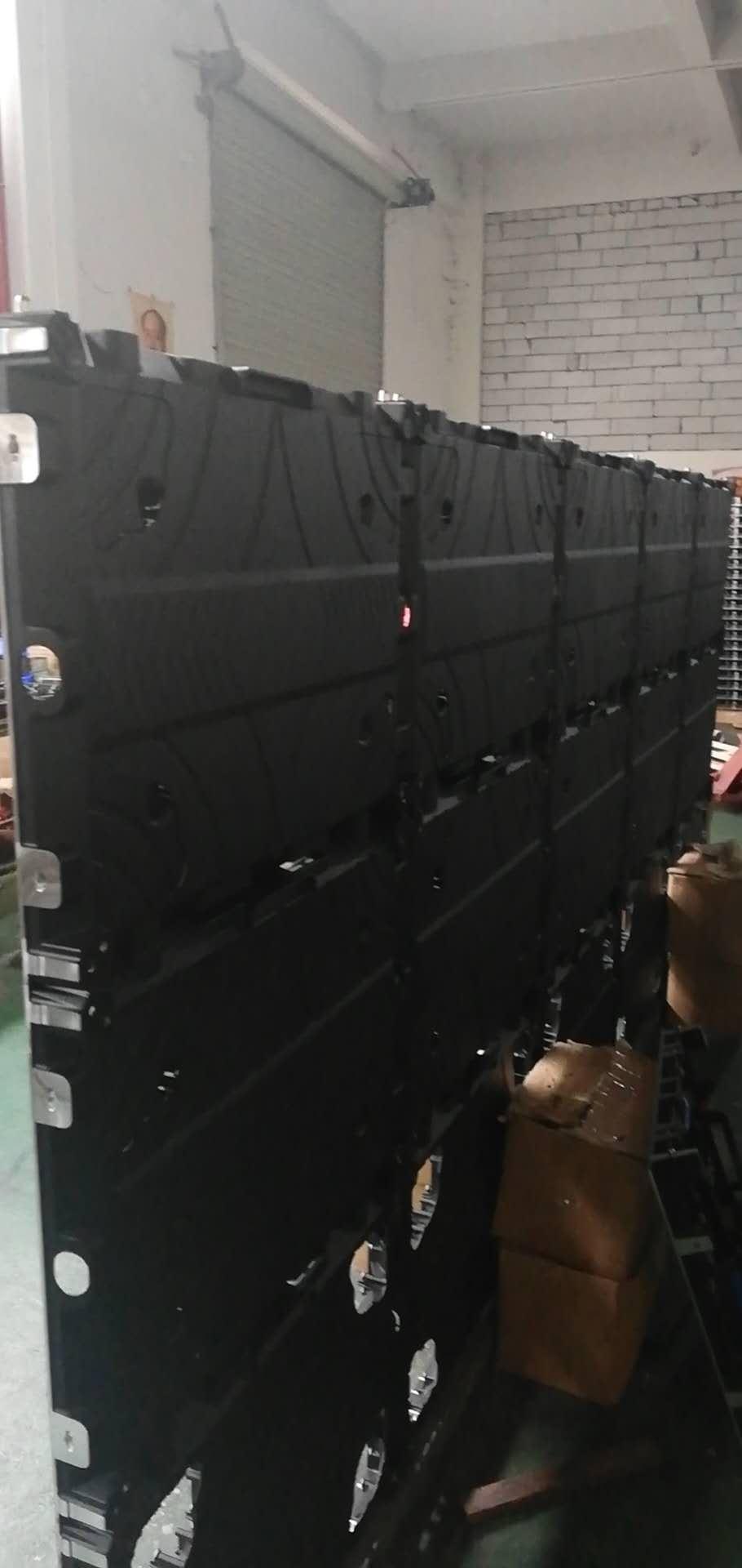 公模磁吸前維護壓鑄鋁箱體 LED顯示屏箱體 640*480*52MM 3