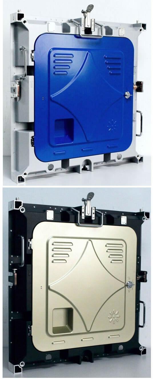 公模壓鑄鋁箱體 LED顯示屏箱體480*480mm 適用於: P2.5 P5 3