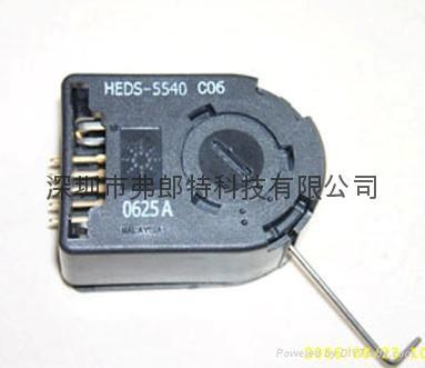 HP 编码器HEDS-5540#C06 HEDS-5540- 1