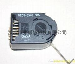 HP 編碼器HEDS-5540#C06 HEDS-5540-