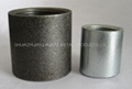 Glav. carbon steel pipe socket