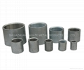 steel sockets or merchant coupling