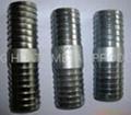 Carbon steel hose nipples