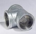 Malleable iron pipe fittings,Tee