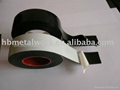 High voltage fusing rubber tape white color