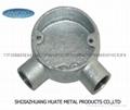 Malleable iron conduit box cross type