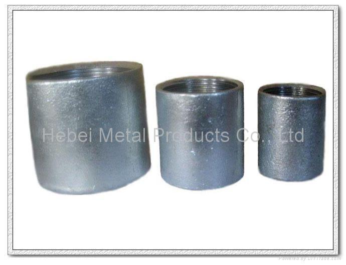 Glav. carbon steel pipe socket 2