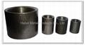 Full thread carbon steel pipe socket