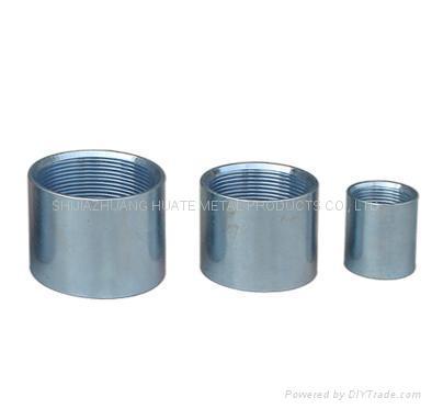 Full thread carbon steel pipe socket 4