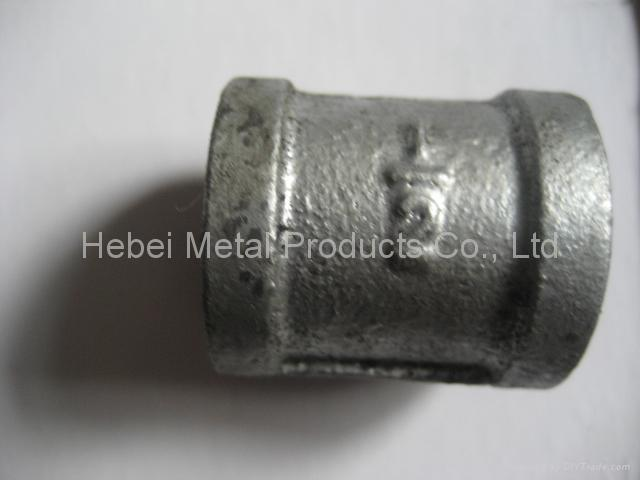 NPT thread Malleable Iron Pipe Fittings 4