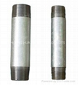 Long screw carbon steel pipe nipples