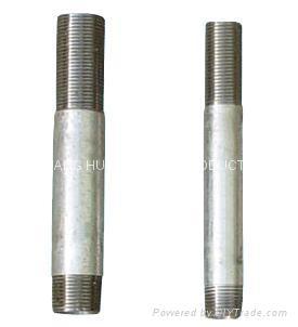 Long screw carbon steel pipe nipples 3