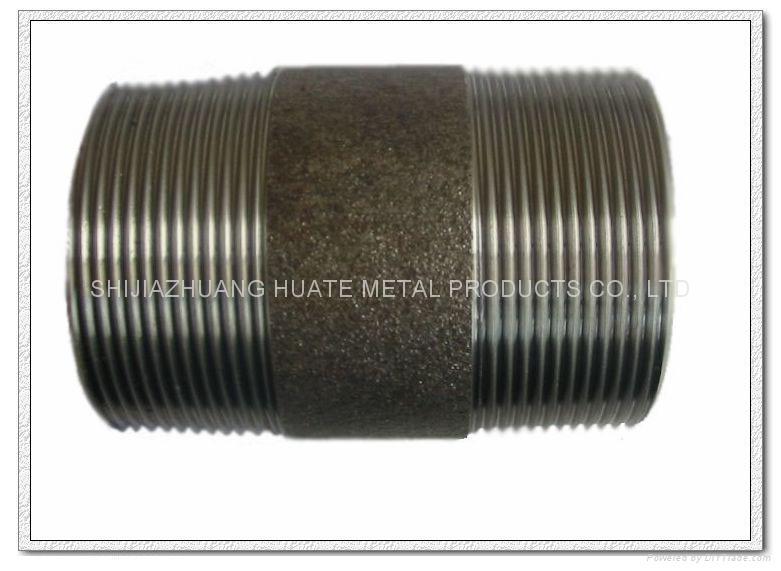 powder coated steel pipe nipples 4