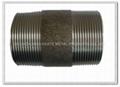 powder coated steel pipe nipples