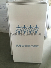 家具汽车烤漆房专用干式油漆过滤纸