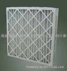 折疊式初效紙框空氣過濾器
